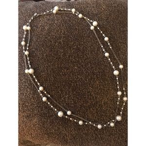 American Eagle Faux Pearl Necklace